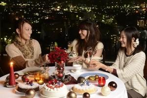 クリスマスのレストラン2